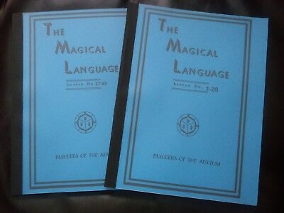 The Magical Language,B.O.T.A,AMORC,Rosicrucian,Occult,Esoteric,OTO,Metaphysical