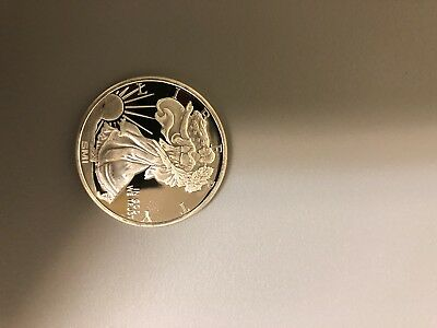 Walking Liberty Design 1oz. .999 Fine Silver Round (brilliant Uncirculated)