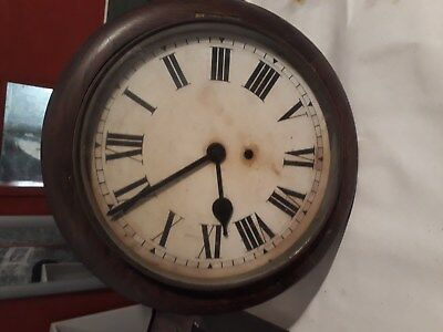 antique wall clock . Vintage clock. welsh origin