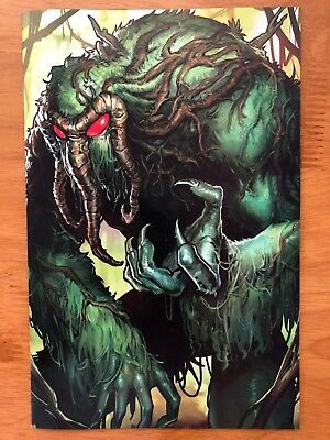 Weapon H 8 Sujin Jo Marvel Battle Lines Variant Cover B Man Thing 2018 NM