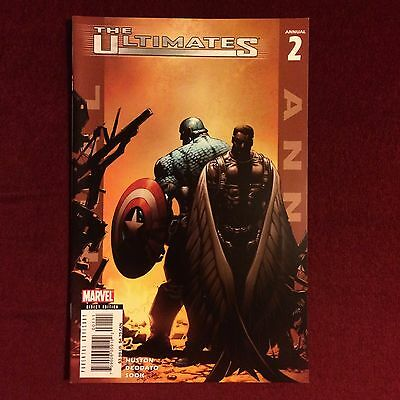 Marvel Comics The Ultimates annual issue 2 2006 Captain America The Falcon