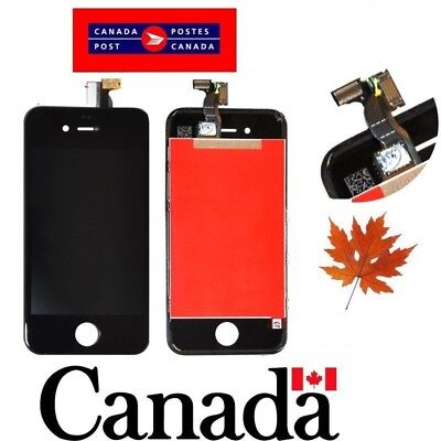 Replacement LCD Touch Screen Digitizer Glass Assembly  for iPhone 4 Black - CAN
