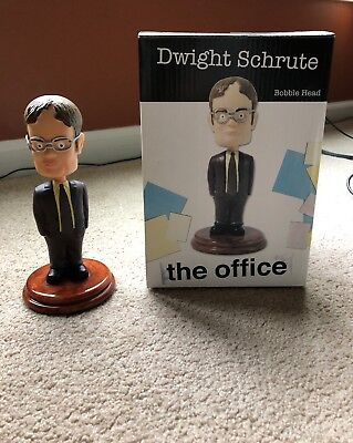 """Dwight Schrute """"The Office"""" Bobblehead in box"""