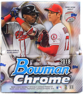 2018 Bowman Chrome Baseball Hobby Random Player 1 Box Break