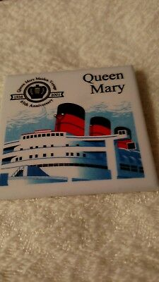 White Star Line Rms Queen Mary 65Th Anniversary Maiden Voyage 1936-2001 Pin