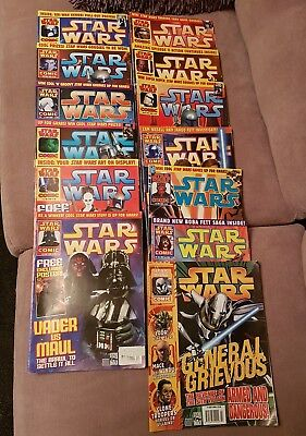 Vintage Star Wars Comics X 13 From 2002 Onwards