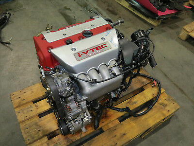 JDM 02-06 Honda Integra DC5 K20A Type R Engine Long Block 225HP Motor, 25K Miles