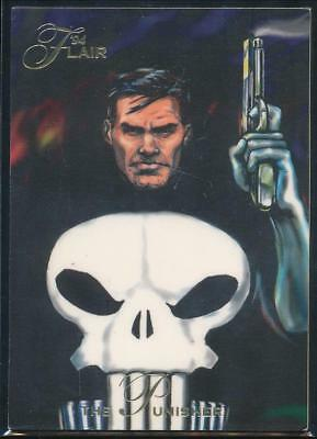 1994 Flair Marvel Annual Trading Card #33 The Punisher