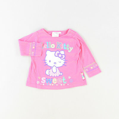 Camiseta color Rosa marca Hello Kitty 12 Meses  517115