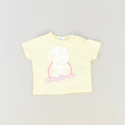 Camiseta color Amarillo marca Zara 3 Meses  517267