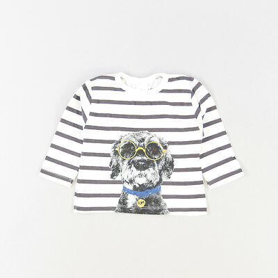 Camiseta color Blanco marca Zara 3 Meses  517271