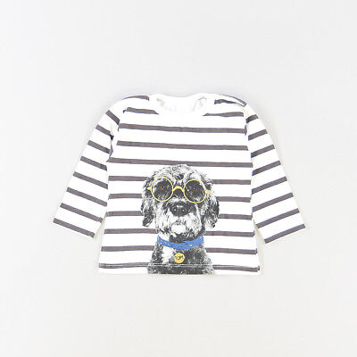 Camiseta color Blanco marca Zara 3 Meses  517272