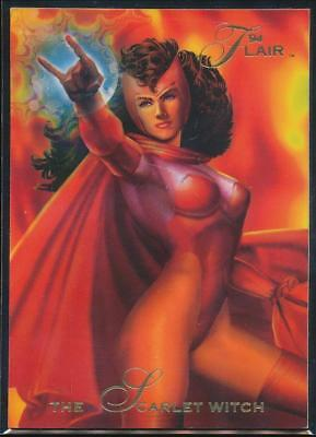 1994 Flair Marvel Annual Trading Card #35 The Scarlet Witch