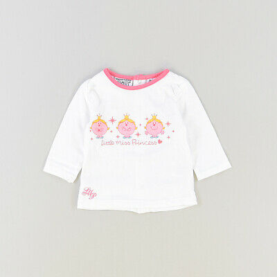 Camiseta color Blanco marca Monsieur Madame 3 Meses  517362