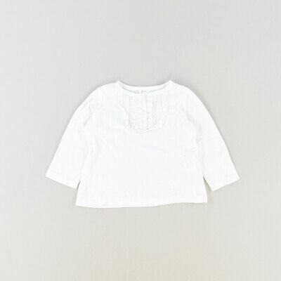 Camiseta color Blanco marca Zara 3 Meses  517366