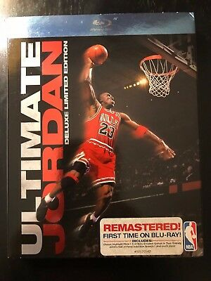 Ultimate Jordan Deluxe Limited Edition Blu-Ray Basketball - New & Sealed Rare