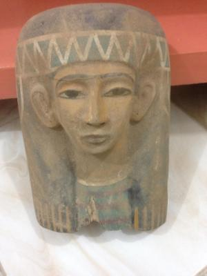 Ancient Egyptian Mask of Isis (323–30 BCE)