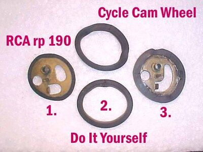 CYCLE CAM KIT FOR RCA 45 PHONOGRAPH RECORD PLAYER rp190 The Original since 1995~