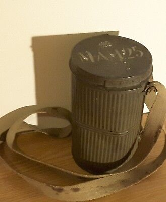 French Wwi Ars Gas Mask Can