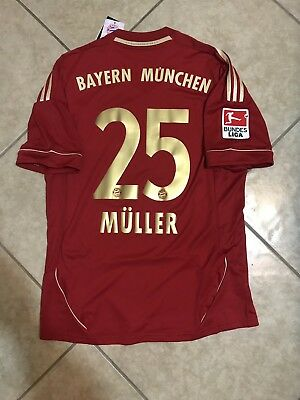 huge selection of 9da77 a7f5a GERMANY BAYERN MUNICH Thomas Muller Md jersey original Trikot football shirt