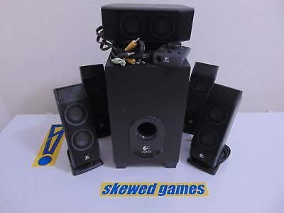 Logitech X540 Speaker Set - Subwoofer Controller - Computer Speakers