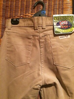 Amco Size 12 /1980s  New Cord Jeans