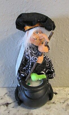 Annalee Halloween 2011 6 Inch Witches Brew Cauldron With Eyeball NWT