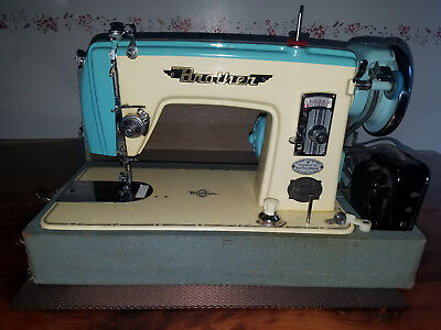 VINTAGE BROTHER PRECISION Sewing Machine Japan Gorgeous HA40B40 Adorable Brother Japan Sewing Machine