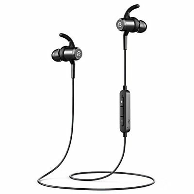 SoundPEATS Bluetooth Headphones Magnetic Wireless Earbuds for Sports Workout Mic
