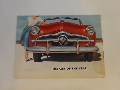 1949 Ford, It's Here, The Car of The Year!