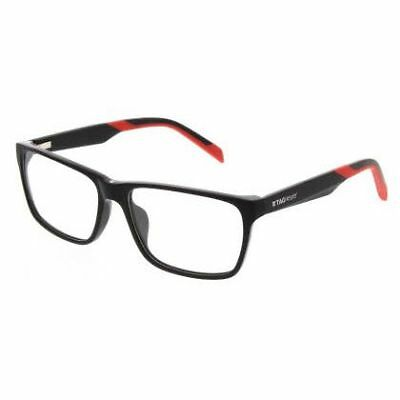 NEW TAG Heuer 0552-006-57 Black Red Sunglasses