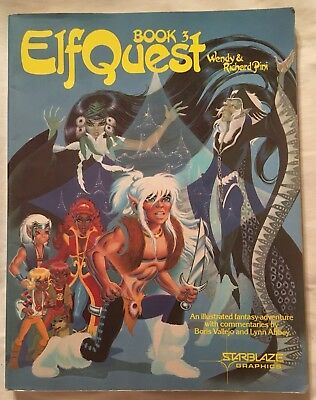 ELFQUEST Book 3 Captives Of Blue Mountain Wendy Pini Starblaze Donning