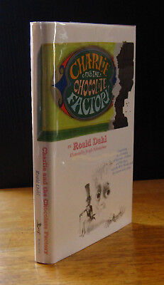 CHARLIE & The CHOCOLATE FACTORY (1964) ROALD DAHL 5-LINE 1st Edition in DJ