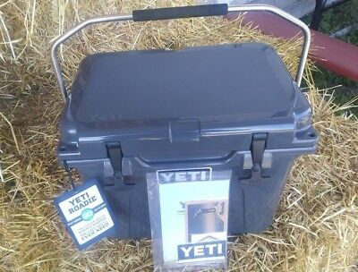 YETI 20   Roadie  COOLER -  CHARCOAL  -   Very Limited Quantity  Left