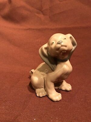 NAO by Lladro Brown Puppy Dog ( Spaniel??) Porcelain MINT