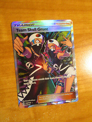 Team Skull Grunt 133//149 Sun /& Moon Reverse Holo Mint Pokemon Card