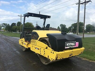 2008 Hypac C766D Vibratory Roller (Good running and working condition)