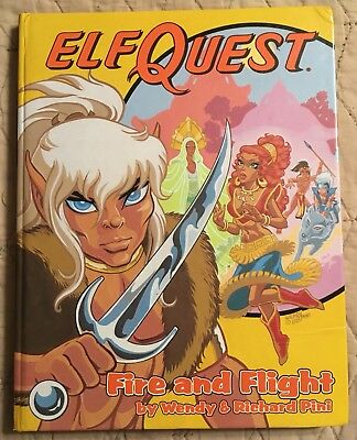 ElfQuest Book 1 Signed Fire and Flight Wendy Richard Pini  Hardback Autographed