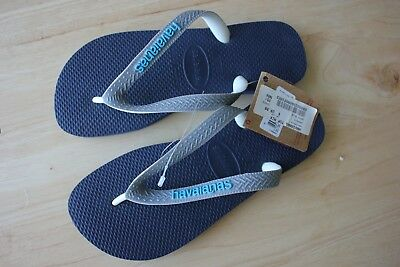 Havaianas youth size 35-36, navy blue, brand new with tags, never worn