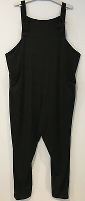 Black ASOS DESIGN Maternity Dungaree Style Jumpsuit in Jersey  | Size 18 | NWT