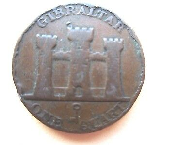 Gibraltar 1 quart 1842/0 overdate Low Start L@@K