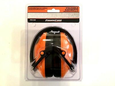 Power Care Foldable Ear Muffs NEW IN BOX up to 23 Decibels