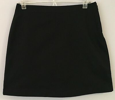 Lands' End Girls Above Knee Chino Skort in Black ♡ Size US 12 ♡ Suit 10-11yrs