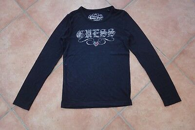 Shirt in schwarz von GUESS in Gr 122-128 TOP!!!