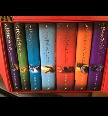 Harry Potter Box Set: The Complete Hardback Collection  by J. K. Rowling...