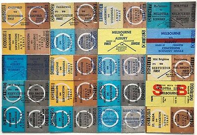 VR Tickets - 20 x Country Issues from Suburban Stations (set 1)