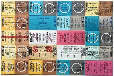 VR Tickets - 20 x Country Issues from Suburban Stations (set 2)