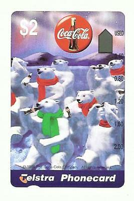 PRISTINE MINT $2  COCA COLA PHONECARD Pre 1211  INVESTMENT QUALITY 10/20