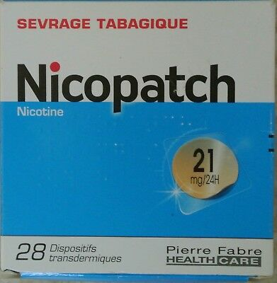 NICOPATCH 21 mg/24H - 28 substituts nicotiniques - Anti-Tabac