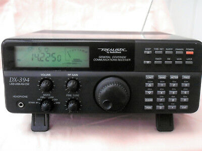 Realistic DX 394 with manual and antenna improved B model
